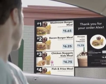 Digital Signage in Repast casual Industry: giving people well customer experience and convenience